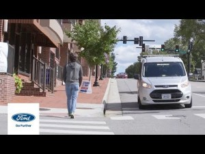 'Mystery Van' Helping Self-Driving Cars Communicate with People | Autonomy | Ford – #FordMotorCompany #news and #Videos